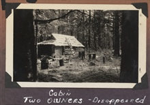 A cabin in the forest - the two owners had disappeared.