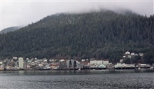 Juneau waterfront.