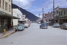 Downtown Juneau.