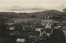 A view of the city of Dutch Harbor.