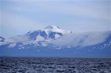 Roundtop seen from the Bering Sea.
