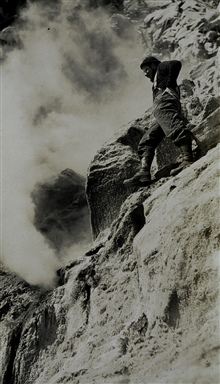 Fumarole in the Aleutians.