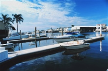 Port-O-Call Marina is home to recreational fishing boats