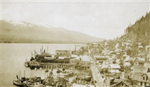The Ketchikan waterfront.