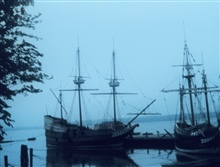 Jamestown - a scene from the 1620's