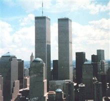 World Trade Center at New  York during transit between SHOALS Lidarsurvey sites.