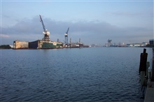 Shipyards on the Elizabeth River, Norfolk.