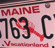 Maine celebrates its fishing and maritime heritage on its license plates