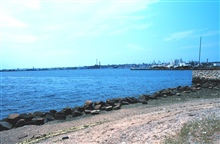 A view of New Bedford Harbor.