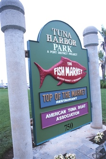 Tuna Park - a park dedicated to the Tuna Fishing industry