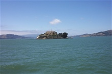 Alcatraz, sometimes called The Rock.