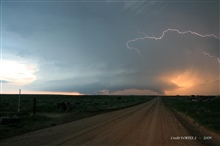 Lightning over the Great Plains