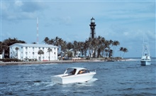 The Hillsboro Lighthouse at Pompano Beach