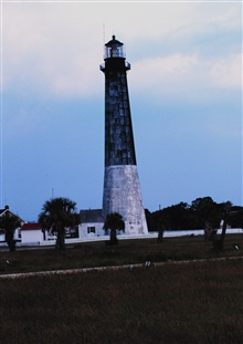 The lighthouse at Tybee Island