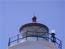 New Dungeness Lighthouse lantern