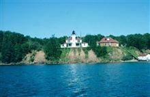 Raspberry Lighthouse in the Apostle Islands