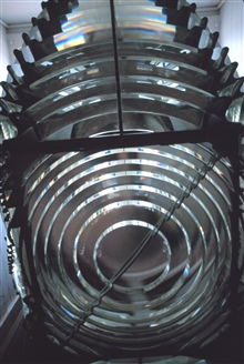 The exquisite workmanship of master lensmakers helped illuminate our coast. This Fresnel Lens can be viewed at the Hooper Strait Lighthouse at theChesapeake Bay Maritime Museum.