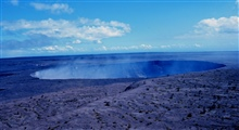 Kilauea Crater at Volcanoes National Park