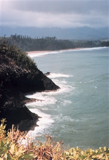 Western coast of Kauai close to Barking Sands