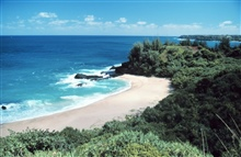 Kauai beach where From Here to Eternity was filmed