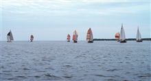 Sailing is a popular pastime on the Chesapeake Bay.
