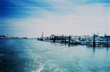 The harbor at Tangier Island, a classic Chesapeake Bay town.