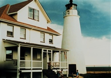 The Cove Point Lighthouse