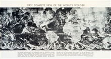 First complete view of the World's Weather - photogaphed by TIROS IX.  Imageassembled from 450 individual photographs.