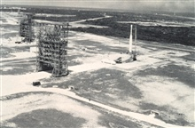 Complex Number 17 at Cape Canaveral where TIROS-carrying Thor-Delta rockets were launched.