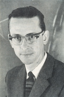 David Johnson, appointed chief of the Weather Bureau's MeteorologicalSatellite Laboratory in 1960 following the launch of TIROS I.