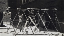 Instruments used during geodetic survey of Atlanta.Triangulation party of E. O. Heaton