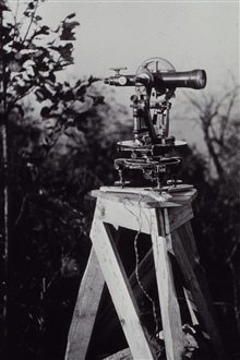 Parkhurst Theodolite.Triangulation party of Paul A. Smith