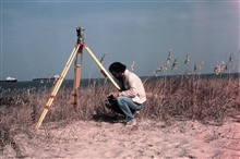Recording Wild T-2 observations at entrance to Chesapeake Bay