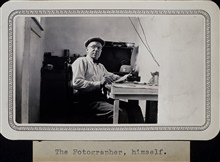 The Fotographer, himself.Portrait of George E. Marsh.Triangulation party of Wilbur Porter