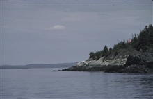 Signal in Penobscot Bay.Signal built by party off of PEIRCE