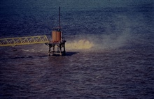 IXTOC 1 oil well blowout in Bay of Campeche.Oil spill studied by RESEARCHER