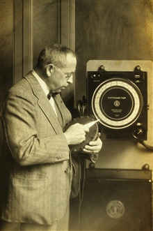 Herbert Grove Dorsey - chief physicist of the Coast and Geodetic Survey.With Dorsey Fathometer - Dorsey came to work with C&GS; in 1926