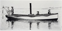 Tanner Sounding Machine.Designed by Zera Luther Tanner, first captain of the ALBATROSS I