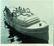 Hydrographic  Launch from 1942 Hydrographic Manual.EXPLORER Launch