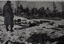 Malmedy Massacre - approximately 70 members of Battery B killed after captured. Fair J. Bryant was travelling with Battery A of 285th at time of massacre.Occurred at beginning of Battle of the Bulge