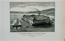 Salmon cannery at Astoria, OregonFrom a photograph