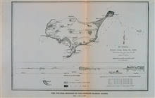 Map of St. Paul's Island, Prybilov GroupSurveyed and drawn April 1873, to July, 1874, by Henry W. Elliott