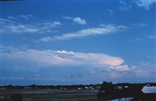 Isolated supercell south of Norman Ok. Photo taken from roof of NSSL.