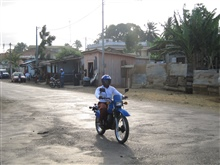 Streets of Sao Tome