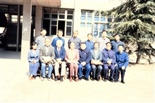 NESDIS scientists with Chinese hosts posing for joint picture.