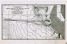The Mendocino Escarpment.The initial indication of the great seafloor fracture zones.Surveyed by GUIDE between 1935-1938