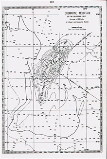 Davidson Seamount named for George Davidson of the C&GS.;This feature was the first called a seamount.Officially named by the U.S. Board on Geographic Names.Discovered by GUIDE in 1933.Error - latitude should range from 35 to 36