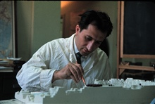 Constructing three dimensional model of Bowers Bank.C&GS; marine geologist at work.Photo #1 of sequence