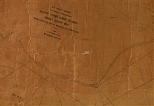 Blowup of title block of Hydrographic Sheet No. H-44 showing South Coast ofLong Island, Great South Bay, 1:10,000, 1834, Lt. T. R. Gedney, USN.