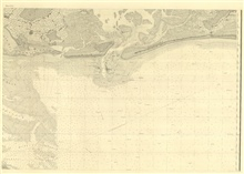 Sheet No. 4, the east center sheet of six of New York Bay and Harbor includingGedney's Channel, the newly discovered channel into New York Harbor, ConeyIsland, and Rockaway Beach.